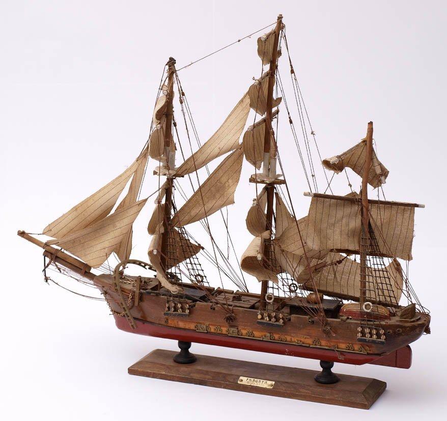 11: Schiffsmodell