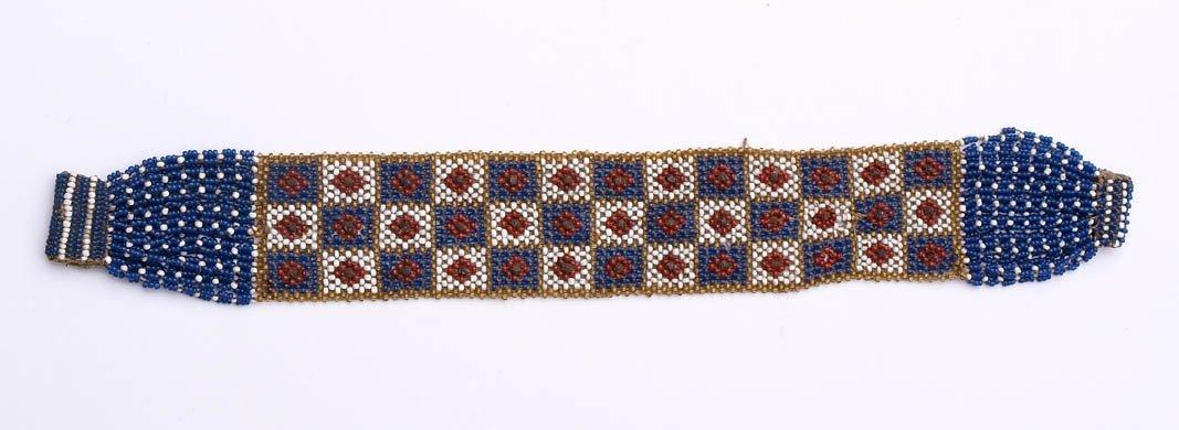 23: Glasperlen-Armband, 19.Jhdt.