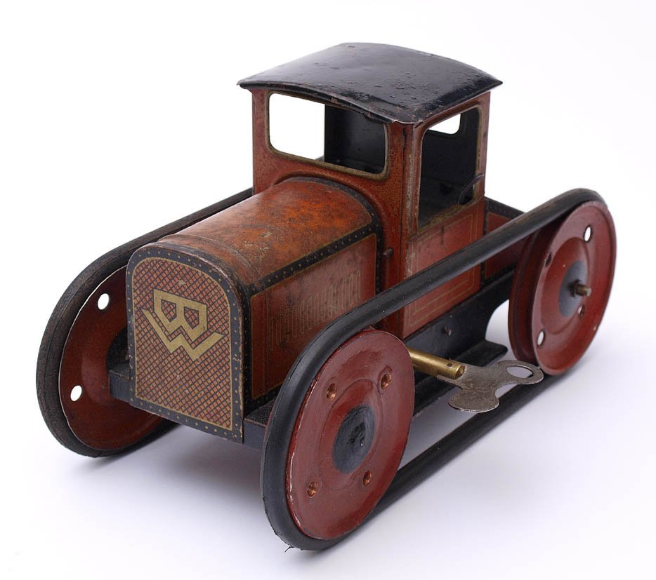 243: Raupenschlepper, Bing, um 1925