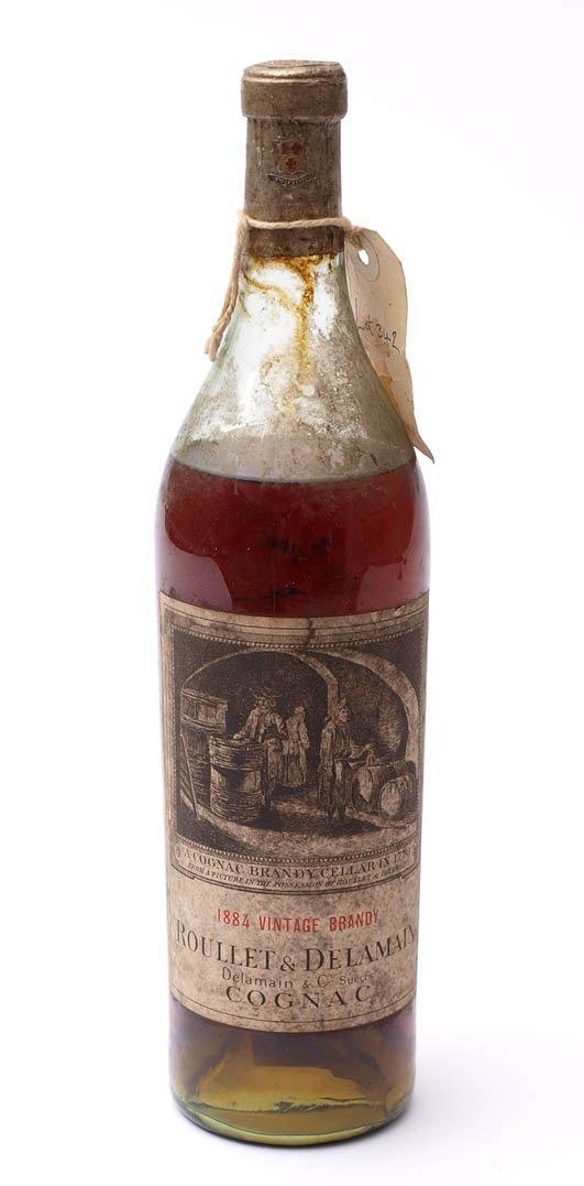 3: Cognac, 'Roulet & Delamain', 1884