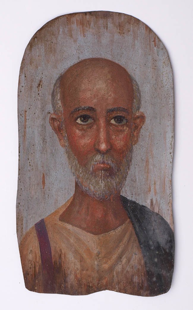 16: Totenportrait, römisch-ägyptisch