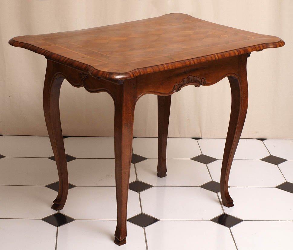 802: Tisch, süddeutsch, 18.Jhdt.