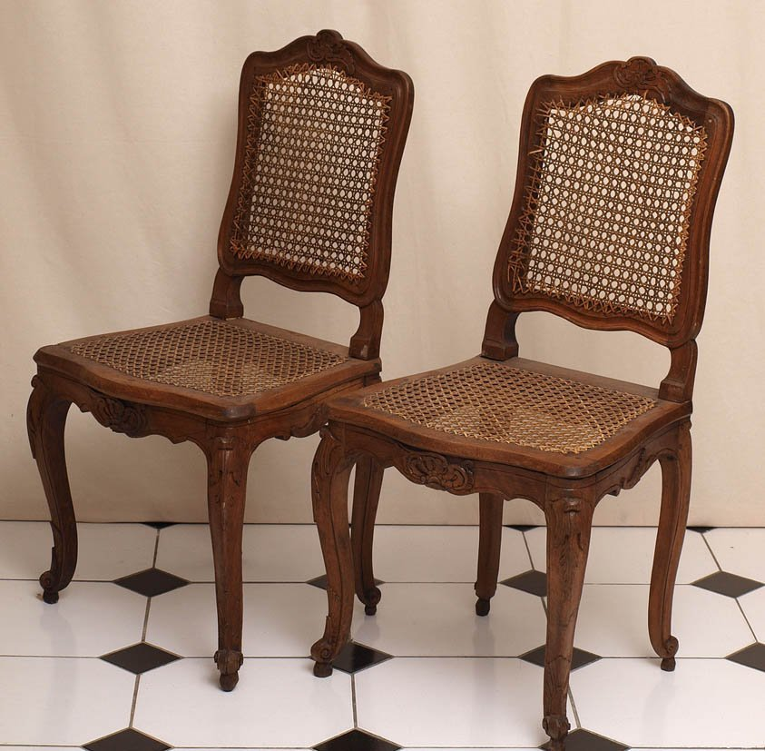 809: Paar Barockstühle, süddeutsch, um 1750