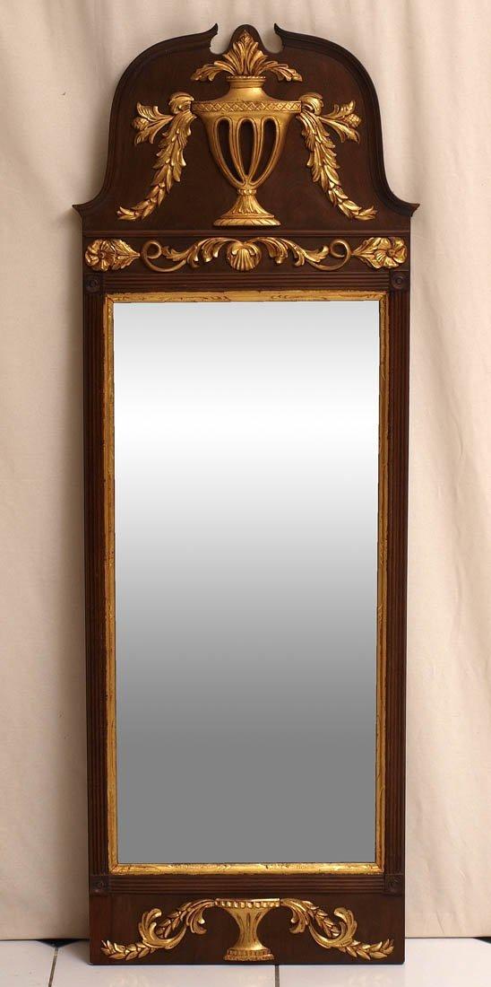 813: Pfeilerspiegel, norddeutsch, um 1760