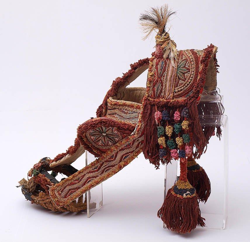 Pferde-Ziergeschirr, wohl Sizilien, 20er Jahre