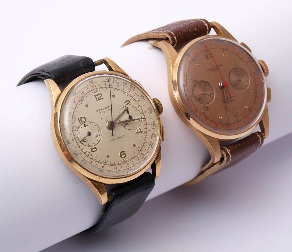 Zwei div. Herrenarmbanduhren