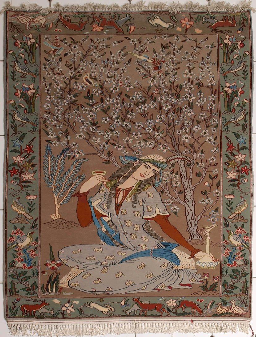 Isfahan-Bildteppich
