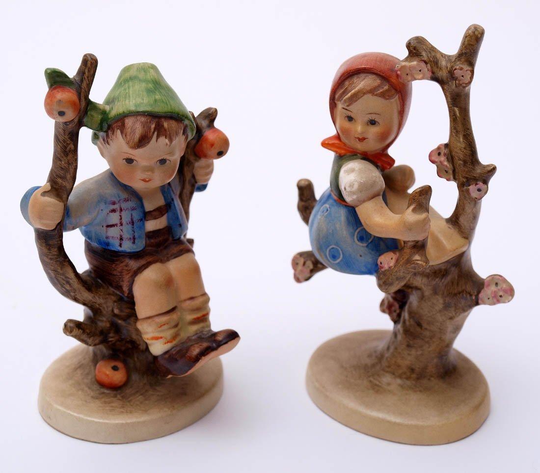 Zwei Figuren, M.J. Hummel für Goebel