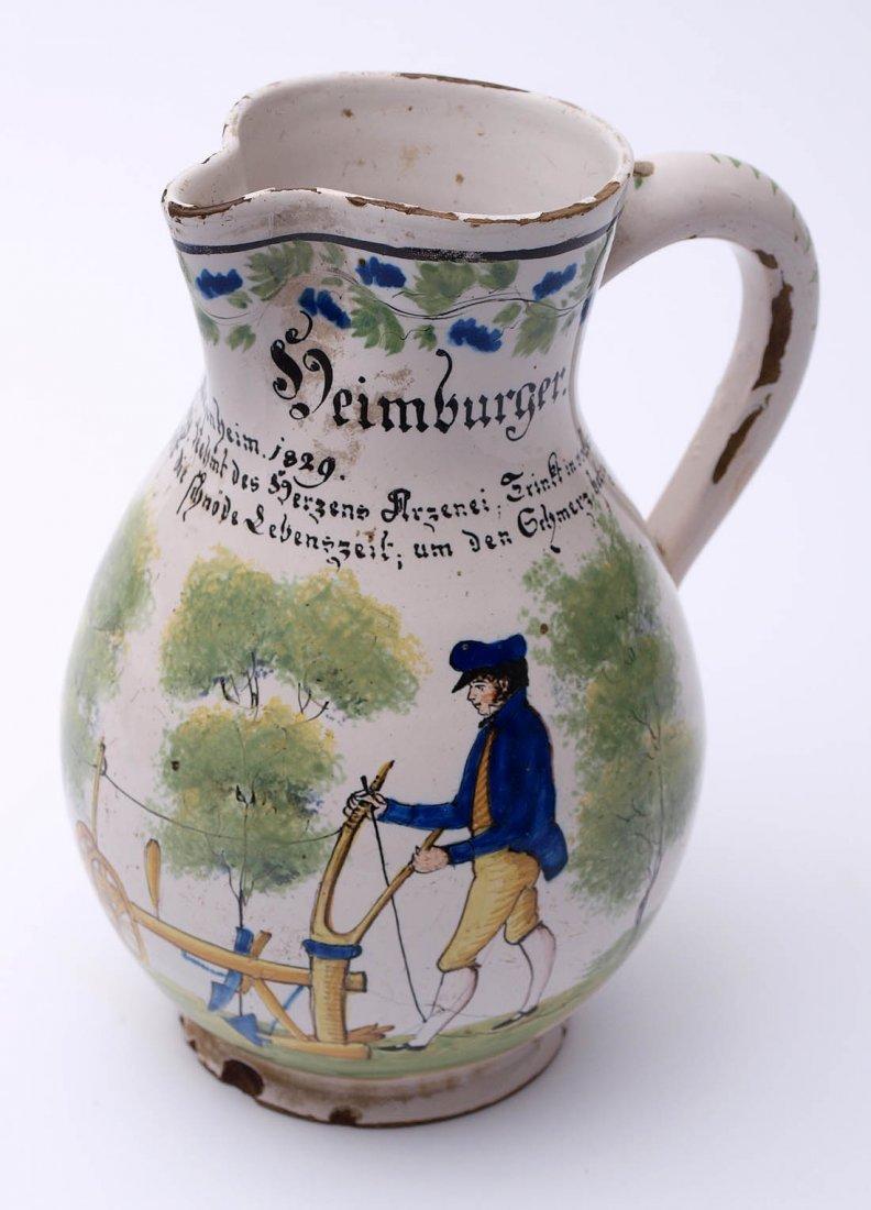 Weinkrug, Durlach, dat. 1829