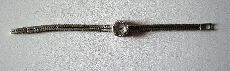 GUBELIN 18kt White Gold Ladies Diamond Watch