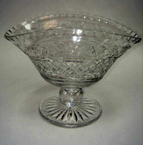 "5: Unusual Early Waterford George III 9"" Compote"