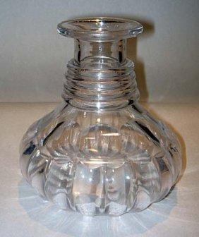 13: Fine William IV Glass Serving Decanter ca1810