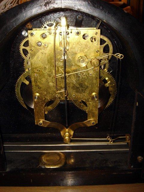 221: Gilbert 1807 Art Deco Striking Mantle Clock - 3