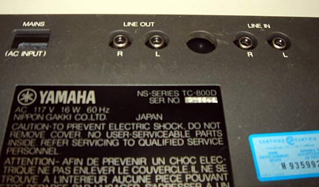 348: Rare Mario Bellini Design Yamaha Cassette Deck - 5