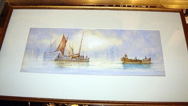 110: Maritime W/Colour Listed UK Artist William Stewart