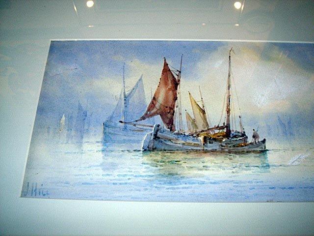 110: Maritime W/Colour Listed UK Artist William Stewart - 2