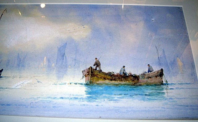 110: Maritime W/Colour Listed UK Artist William Stewart - 4