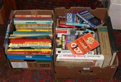 Two boxes of books including vintage children's