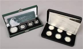 A Royal Mint 2007 Britannia collection silver proof