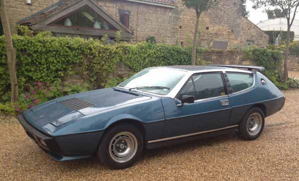 1: 1980 Lotus Elite two door saloon. 2.2 Litre, PFW 201