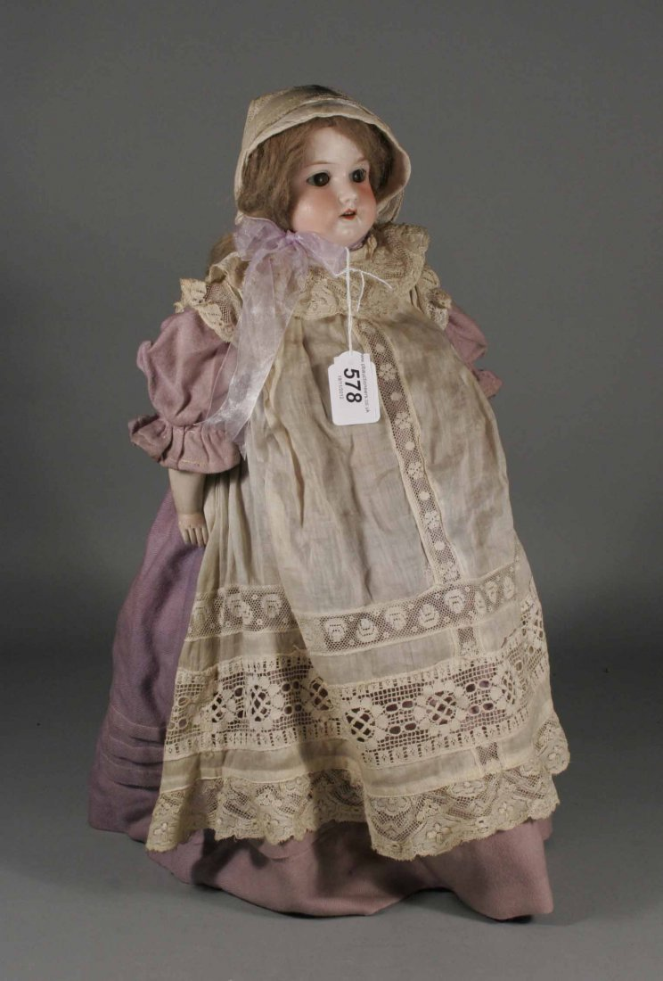 578: A nineteenth century bisque head doll by Armand Ma