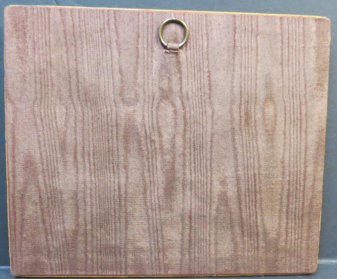 """KPM Porcelain plaque Hand painted 4"""" x 3"""" + Frame - 3"""