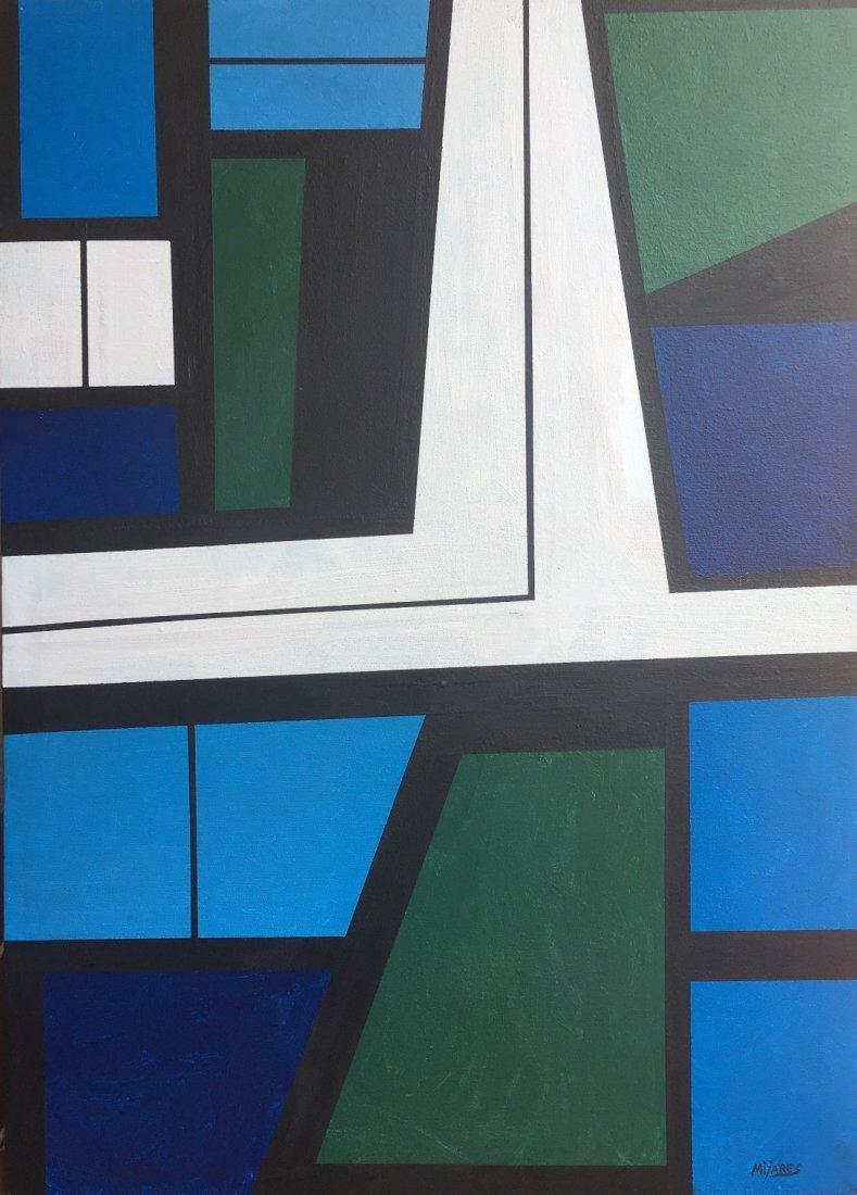 """Jose Maria Mijares - Oil on canvas - Cuba 26"""" x 19"""""""
