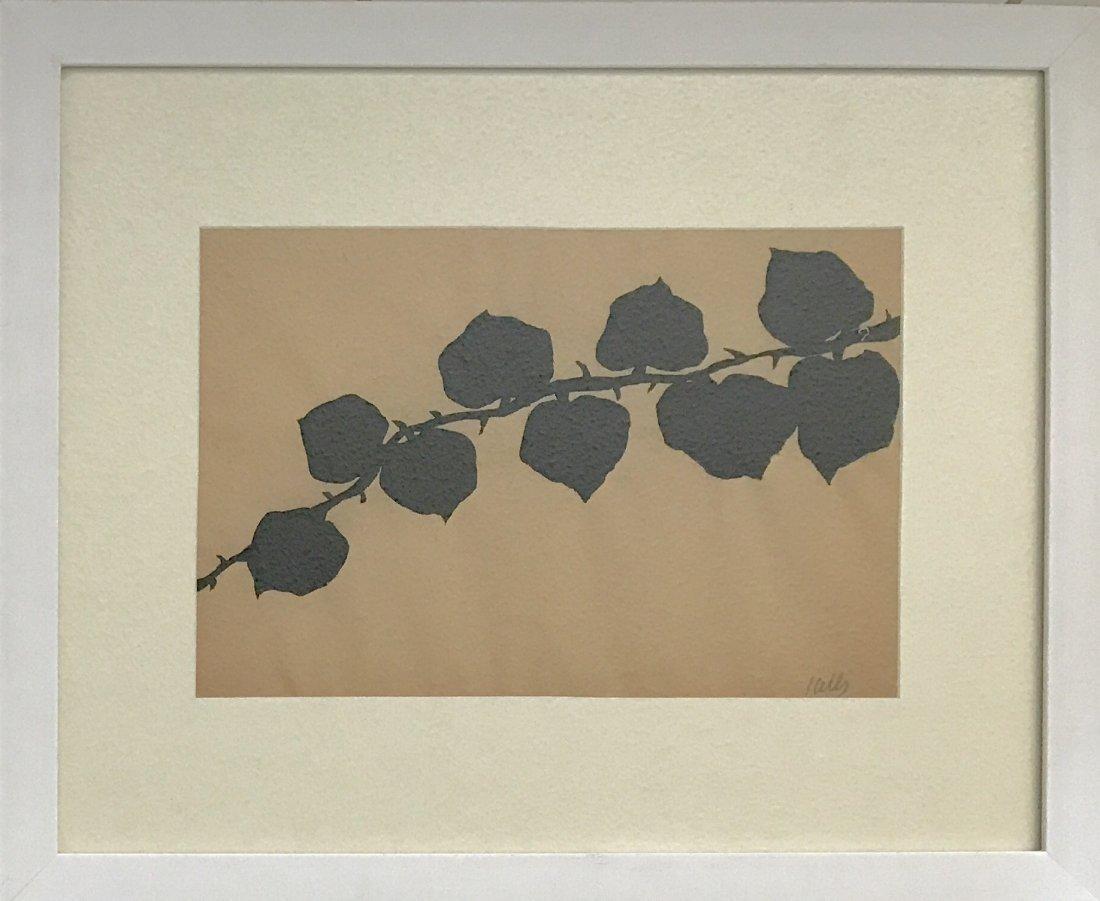 "Ellsworth Kelly - Ink on paper COA 9.5"" x 14.2"" - 4"