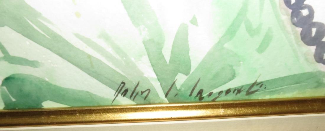 John Singer Sargent - Watercolor on Paper (Attrib) - 4