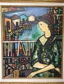 Jose Maria Mijares Oil on Board 235 x 19
