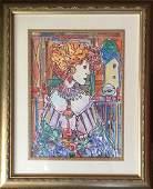 Jose Maria Mijares Watercolor on paper 15 x 11