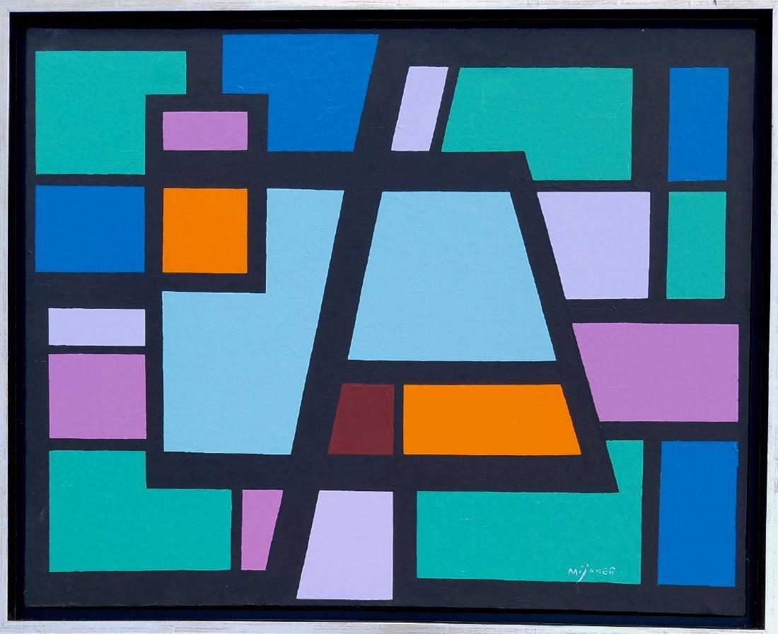 Jose Mijares Oil on Canvas - Cuba - COA by Spouse
