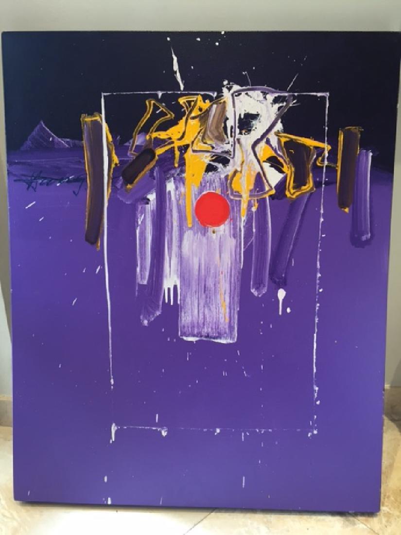 Francisco Hung 1994 Acrylic/canvas Casa del Amanecer