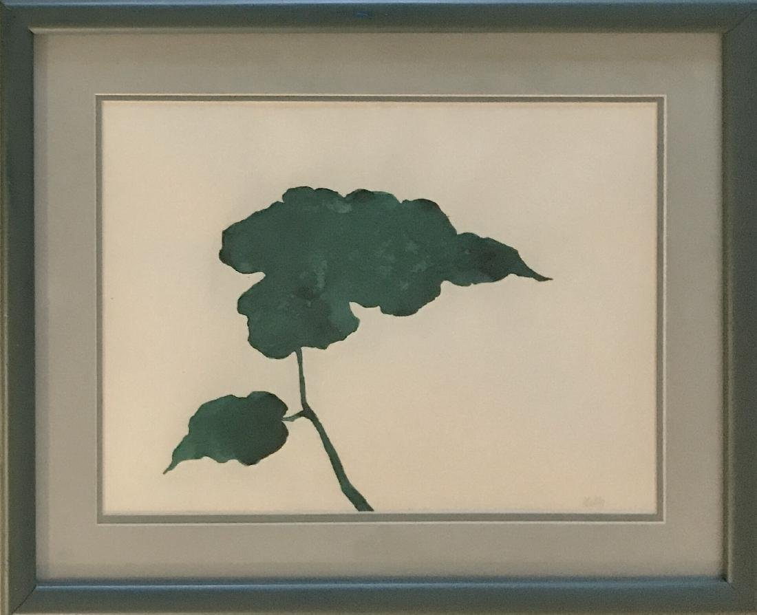 "Ellsworth Kelly - Ink on paper -  12"" x 16"""
