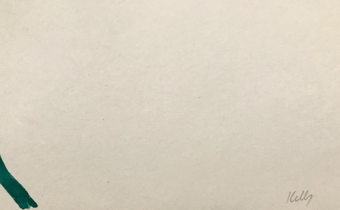 "Ellsworth Kelly - Ink on paper -  12"" x 16"" - 3"