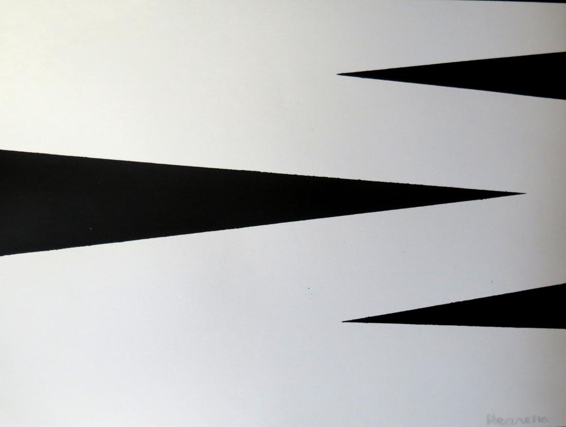 Carmen Herrera Acrylic on Paper - Provenance A.Vinocur - 2