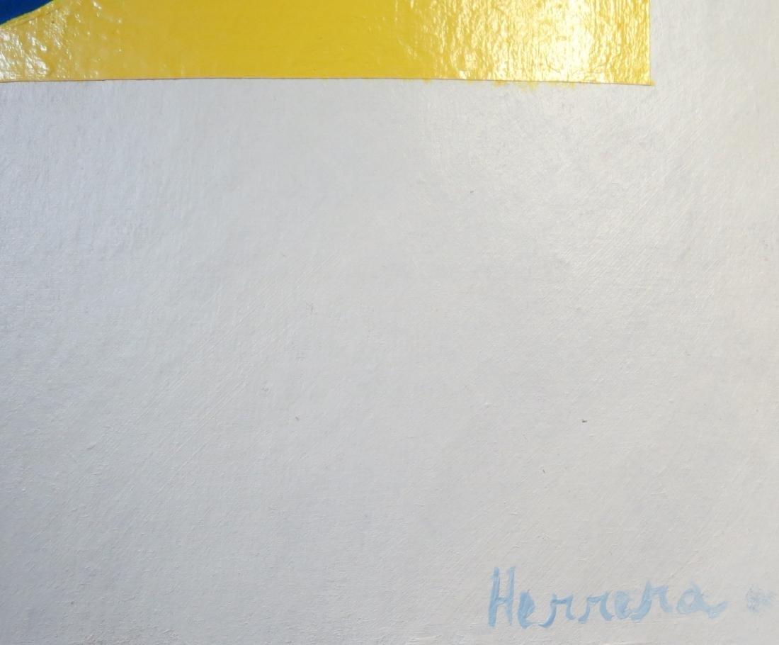 "Carmen Herrera - Acrylic on Cardboard 17"" x 12"" - 3"