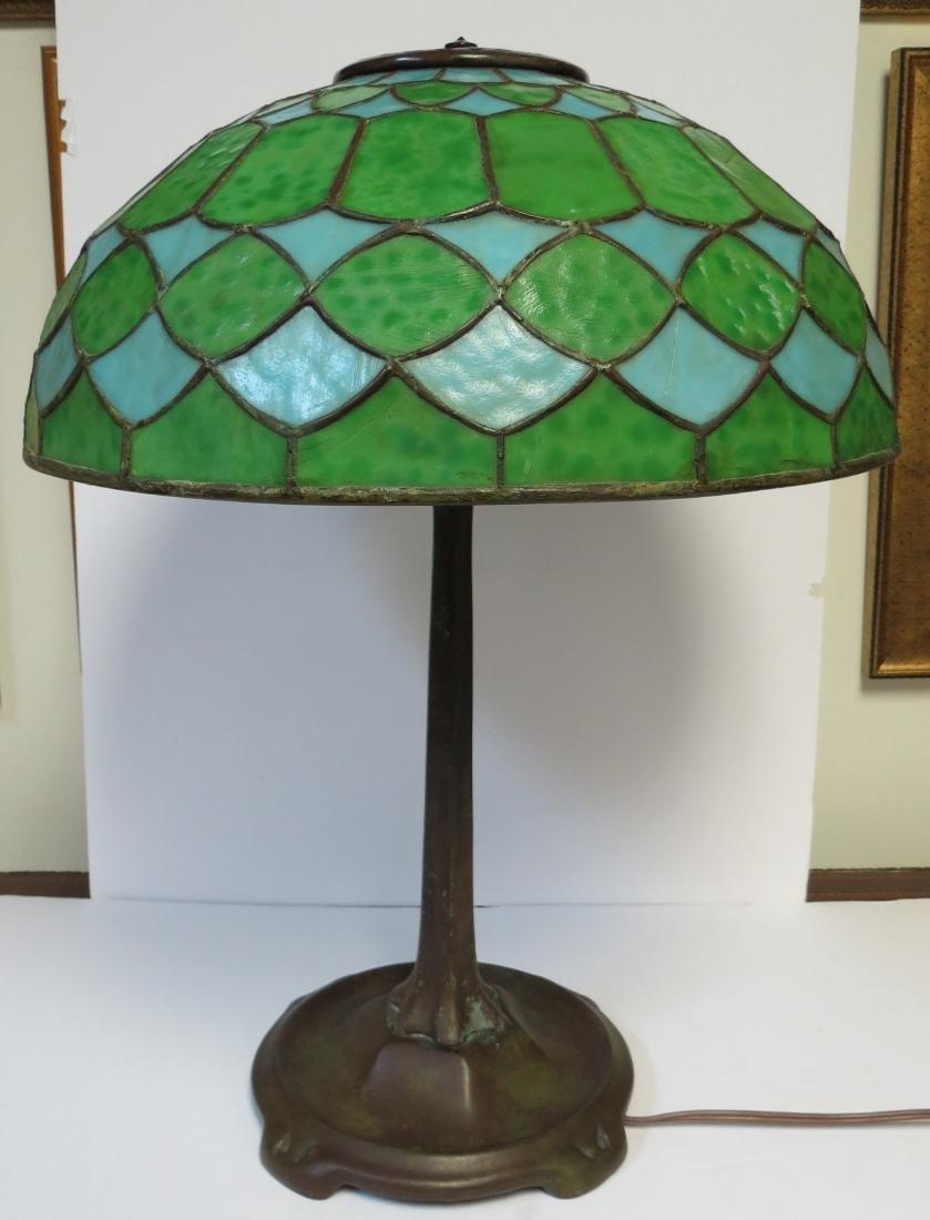 Tiffany Studios Lamp (Original) Signed on Shade & Base