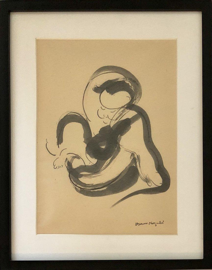 """Isamu Noguchi - Ink on paper 1961 - 14"""" x 10"""""""