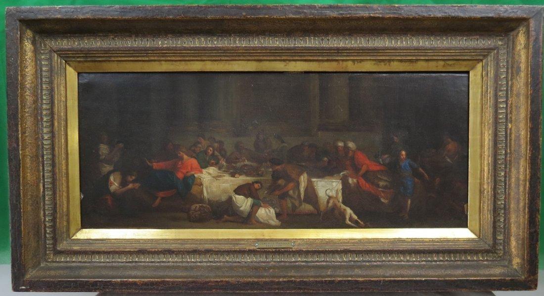 Oil on Canvas by Domenico Morelli, Italian