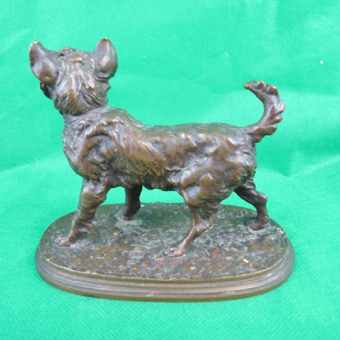 Bronze by P.J.Menne, Dog. - 4