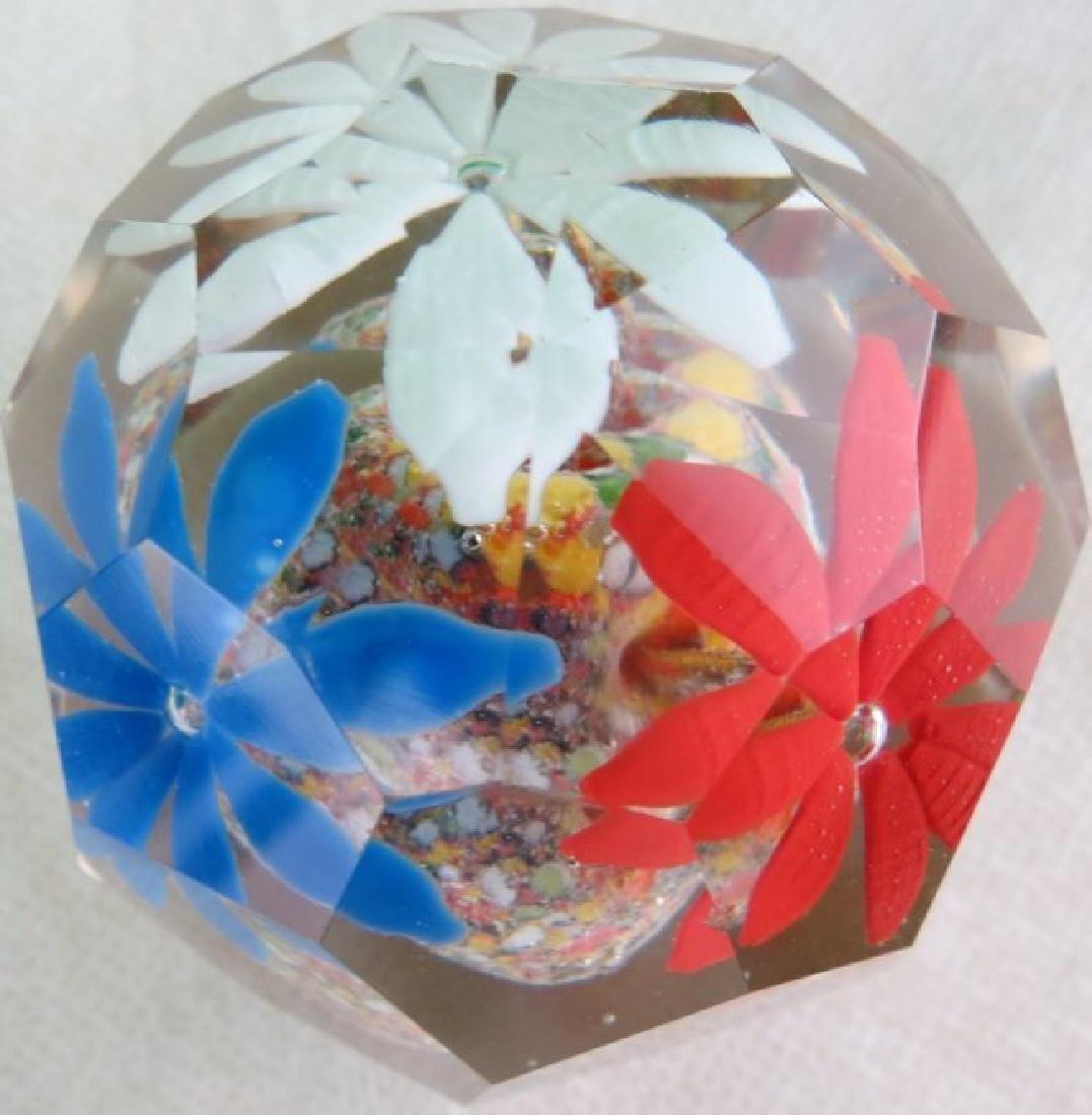 """Paper Weight France 1940  3"""" x 2.5"""" - 2"""