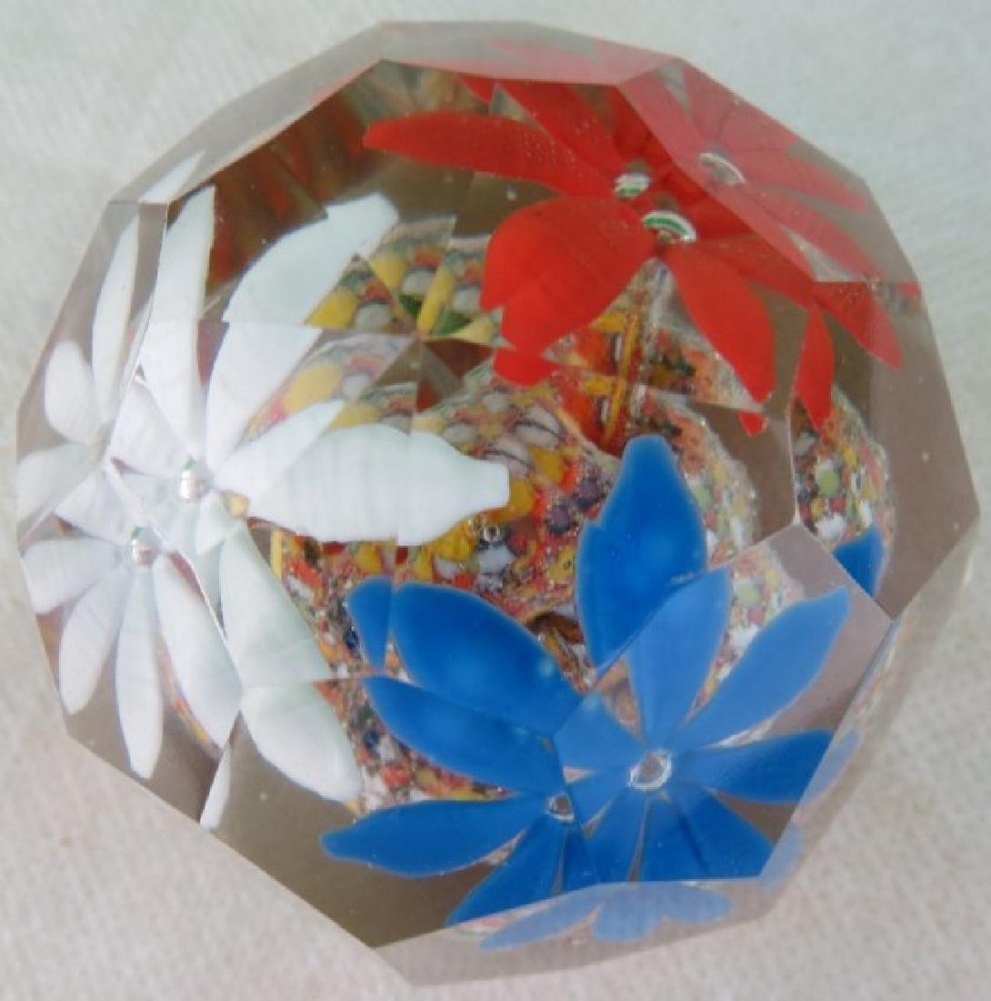 """Paper Weight France 1940  3"""" x 2.5"""" - 4"""