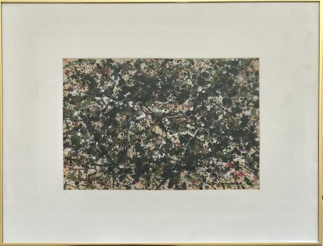 Jackson Pollock 1951 Mixed media on Paper