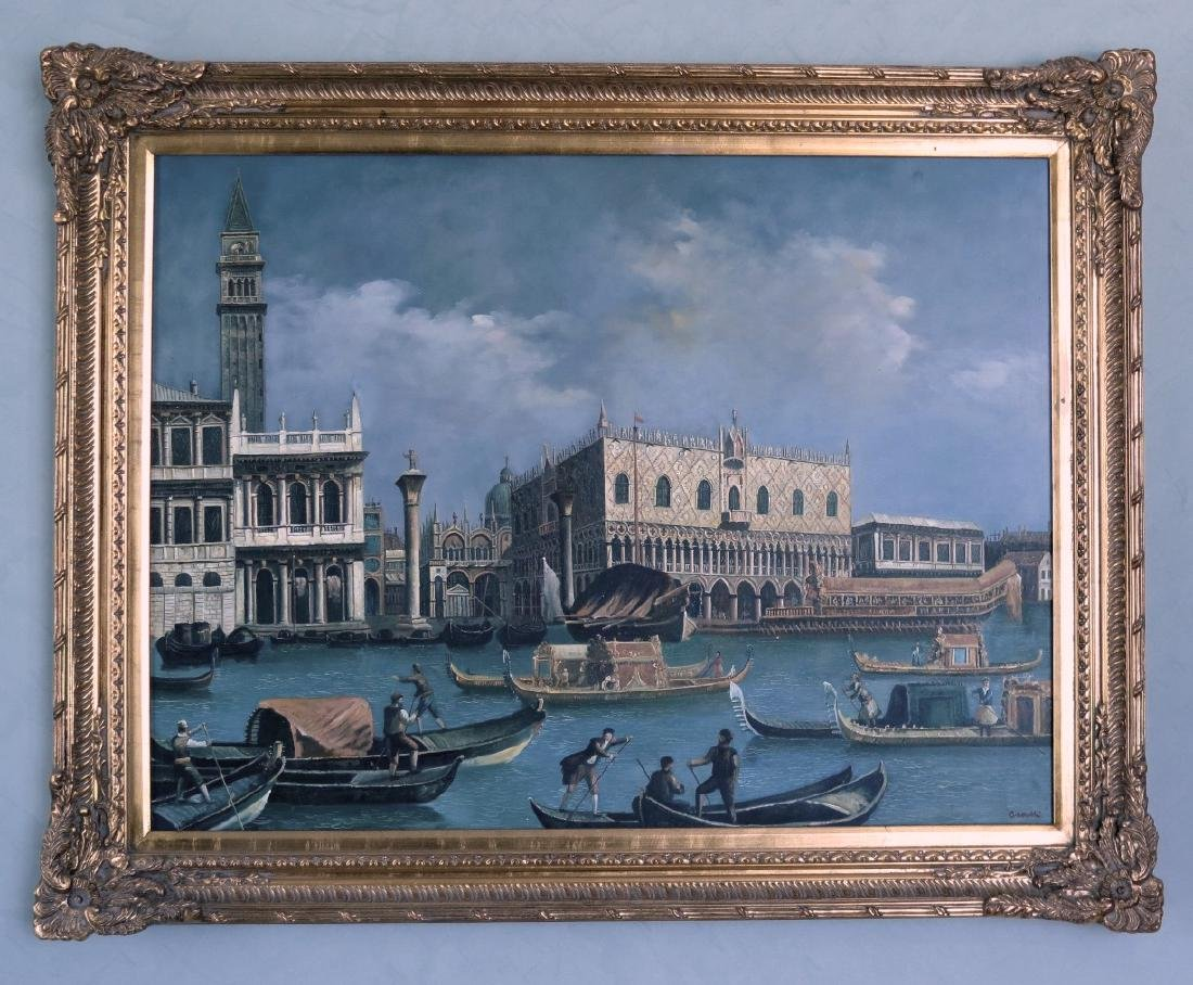 "Canelli - Oil on Canvas - Venice 40"" x 30"""