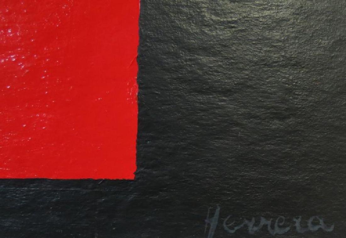 "Carmen Herrera Acrylic on board 15"" x 15"" Signed - 3"