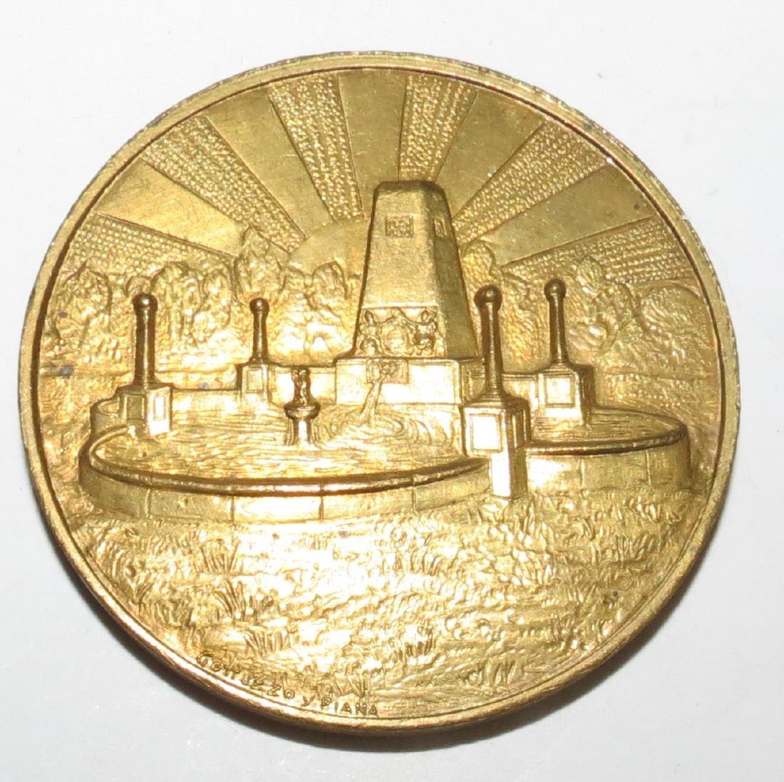 Bronze Medal - British Community 1928 by Gottuzzo