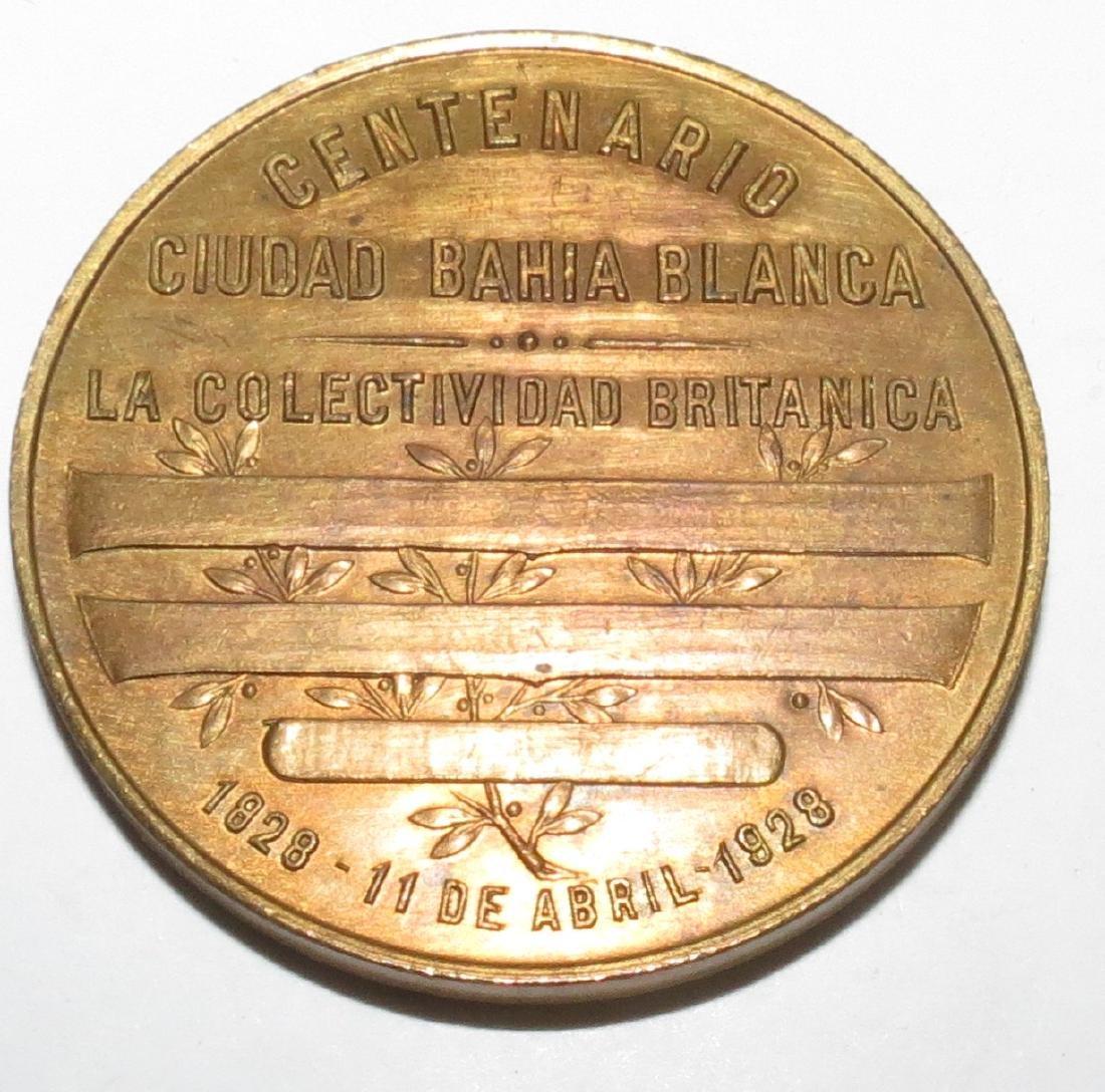 Bronze Medal - British Community 1928 by Gottuzzo - 2