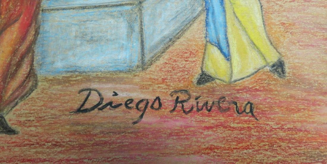 "Diego Rivera - Color pencil on paper 12"" x 12"" - 3"