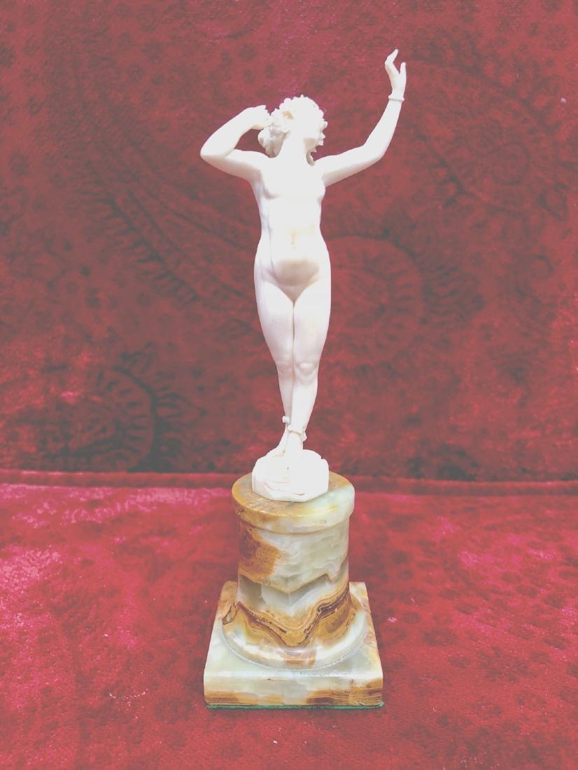 "Ferdinand Preiss (1882-1943)  Sculpture H: 7"""